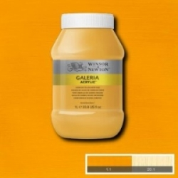 W&N, Galeria 1000ml - 115 Cadmium Yellow deep hue