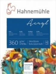 Hahnemuhle Akrylpapper Block 360g - 30x40cm