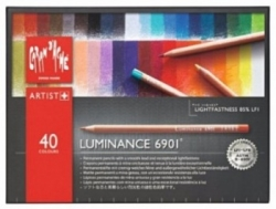 Caran d'ache, Luminance 6901 Pappetui - 40 sort