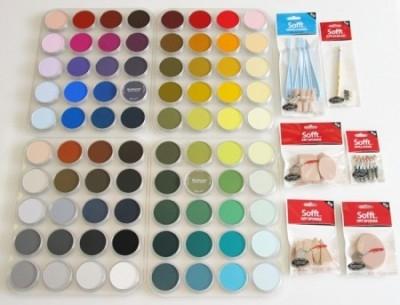 PanPastel, Sofft, 80 Color Set - med verktyg
