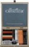 CretaColor PassionBox Small Wooden Box - 25 delar