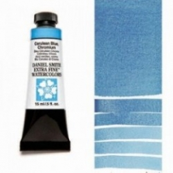 Daniel Smith Watercolor 15ml - 021 Cerulean Blue Chromium