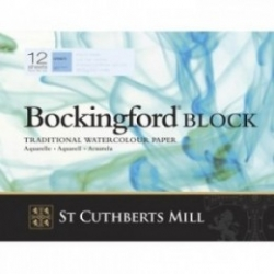 Bockingford, Block 300g - Fin - 310x230mm - 12ark