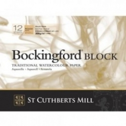 Bockingford, Block 300g - Rough - 260x180mm - 12ark