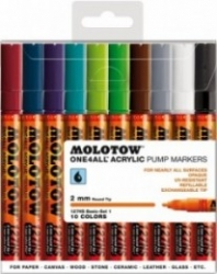 Molotow, 127HS - Basic set II - 10-set