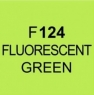 Touch Twin Marker, Fluorescent Green F124