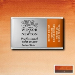 W&N, Prof. Water Colour 1/1 k - 074 Burnt Sienna