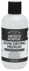 Winsor & Newton, Akrylmedium - Slow Drying - 125ml