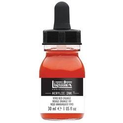 Liquitex Acrylic Ink - 620 Vivid Red Orange