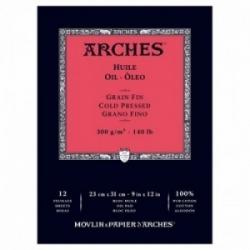 Arches Oljemålningspapper Block 300g - 23x31cm