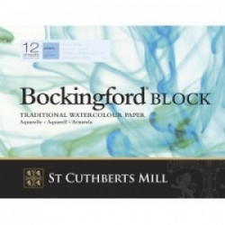 Bockingford, Block 300g CP/NOT - 180x130mm