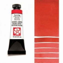 DANIEL SMITH, W.C. 15ml - 084 Pyrrol Red