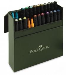 Faber-Castell, PITT AP,  Brush - Ateljelåda 24-set
