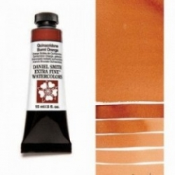 DANIEL SMITH, W.C. 15ml - 086 Quinacridone Burnt Orange