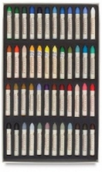 Sennelier Oil Pastel, 5 ml, Universell 48-set