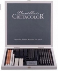 CretaColor, FineArt Black/White Box - 25 delar