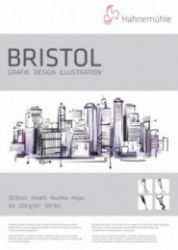 Hahnemuhle Bristol 250g Tuschpapper - A4