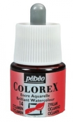 Pebeo Colorex Ink 45ml - 014 Cyclamen