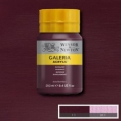 W&N, Galeria 250ml - 075 Burgundy