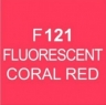 Touch Twin Marker, Fluorescent Coral Red F121