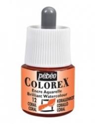 Pebeo Colorex Ink 45ml - 12 Coral